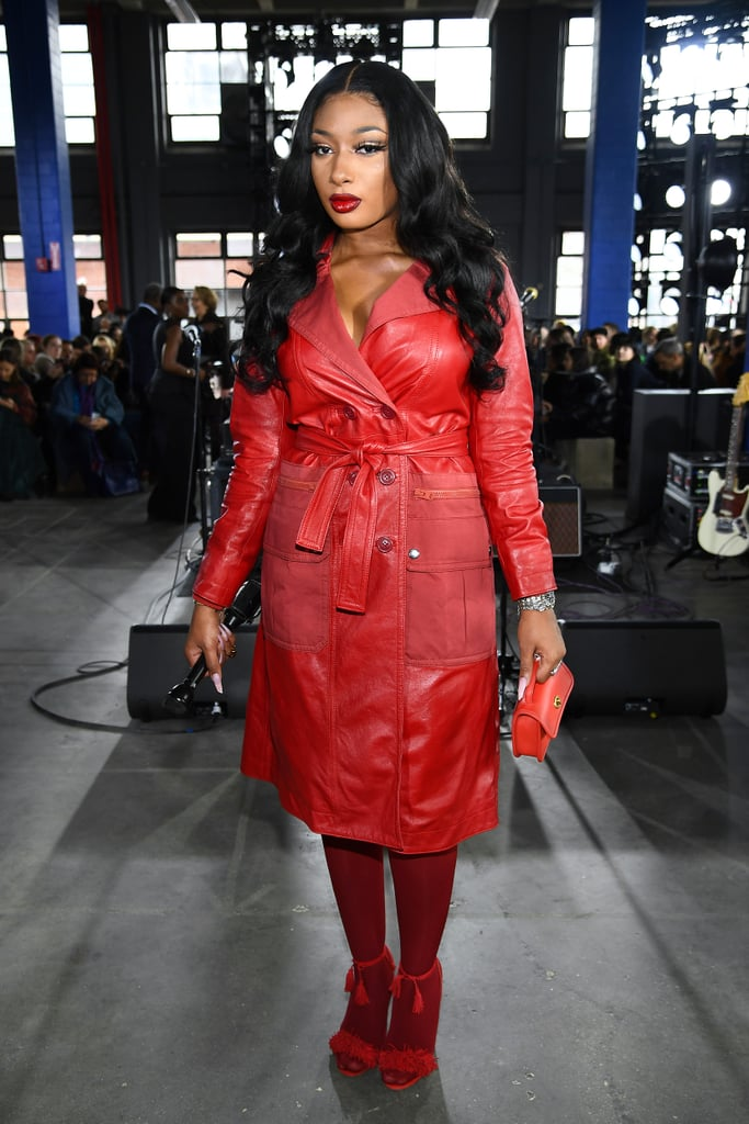 Megan Thee Stallion at the Coach 1941 Fall 2020 Show
