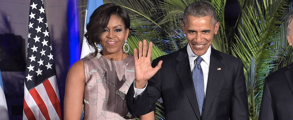 Michelle Obama Found Just the Right Dress For Dancing