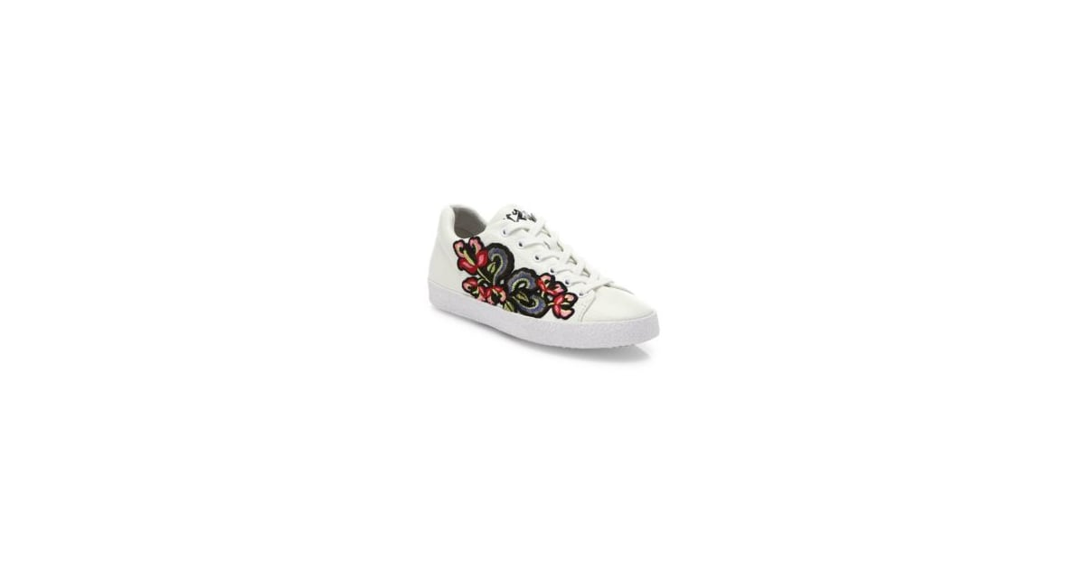Women's Skechers Vaso Flor Sneaker - White Sneakers