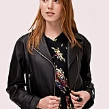 Kate Spade New York Leather Moto Jacket