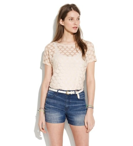 These have all the makings of a classic pair of denim shorts. Imagine these finished off with a plaid button-down and espadrilles for a play on Americana.  Madewell Denim Hitchkey Shorts ($72)