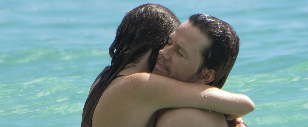 Mark Wahlberg Shows Off His Abs While Vacationing With His Wife in Barbados