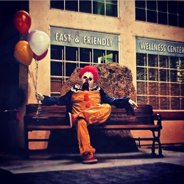 Clowns Stalk Wasco, California | Pictures and Video