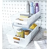 Madesmart Large 2-Tier Organiser With Dividers