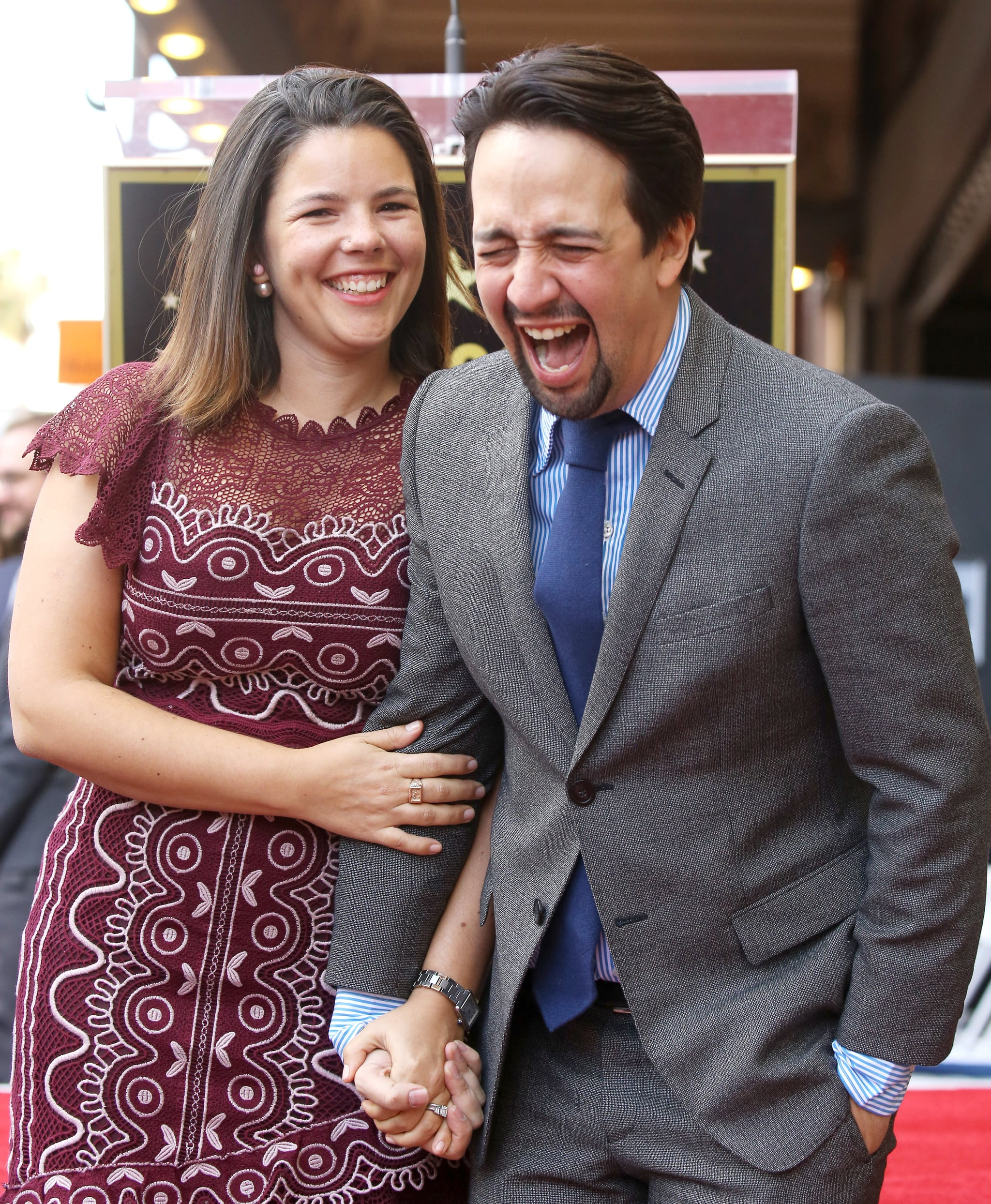 Lin Manuel Miranda Singing To His Wife At Their Wedding Popsugar Latina