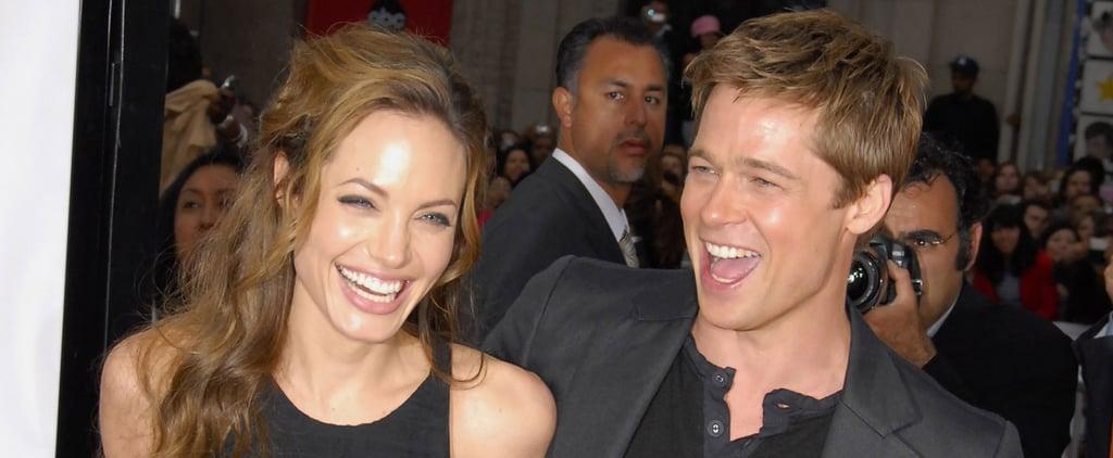 Brad Pitt and Angelina Jolie's Best PDA Moments