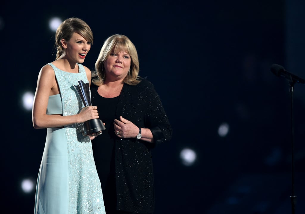 "When it comes to cute celebrity mother-daughter pairings, few compare to Taylor Swift's bond with her mom, Andrea. Ever since the singer stepped into the spotlight, her mother has been her biggest supporter as she attends award shows or cheers her on behind the scenes. Like Taylor said in her song ""The Best Day,"" they always have a great time whenever they're together.  However, the two have also seen each other through some difficult moments over the years. In Netflix's Miss Americana documentary, Taylor opened up about her mother's battle with cancer and how it affected her outlook on life. She even wrote a song called ""Soon You'll Get Better"" for her Lover album as a tribute to her mom. From Taylor's heartfelt songs to their award show appearances, it's clear that they share a special bond. Keep reading for more of their best moments together ahead.       Related:                                                                                                           From ""All Too Well"" to ""Delicate"": A Ranking of Taylor Swift's Best Songs"