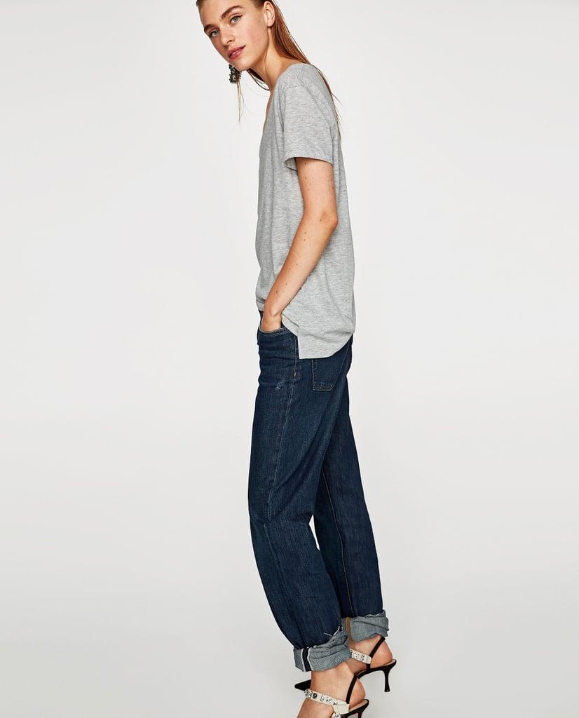 Zara Ecologically Grown Cotton T-Shirt