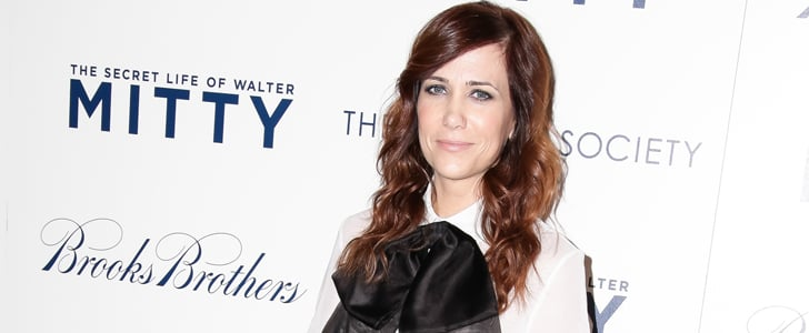 Kristen Wiig Put a (Seriously Gigantic) Bow on It!