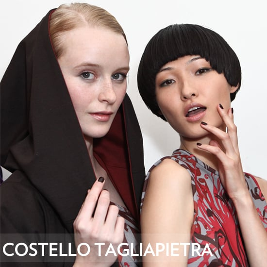 Nails at Costello Tagliapietra Fall 2012