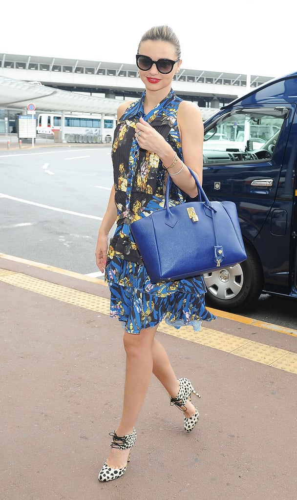 Miranda Kerr jetted out of Tokyo today after a week-long trip of promotions and appearances. She has been hard at work in Japan ever since she landed there last Thursday. On Friday, she made an appearance for a new collaboration with Samantha Thavasa, where she showed off a pink handbag and posed with the E-girls, a Japanese girl group, and also promoted her KORA Organics skincare range. Miranda has had a busy few weeks as she and Orlando celebrated their third wedding anniversary earlier this month as well as a big move to NYC. The family relocated from LA to the Big Apple so that Orlando could prepare for his upcoming Broadway debut in the revival of Romeo and Juliet. He will be taking on the lead as Romeo, and the production has already earned buzz among the theater community for using an interracial cast — Romeo will be white, and Juliet, played by Condola Rashad, will be black. Romeo and Juliet will go into previews in August, and if things go well for the play, then the Kerr-Blooms could be staying in the city for the next several months.