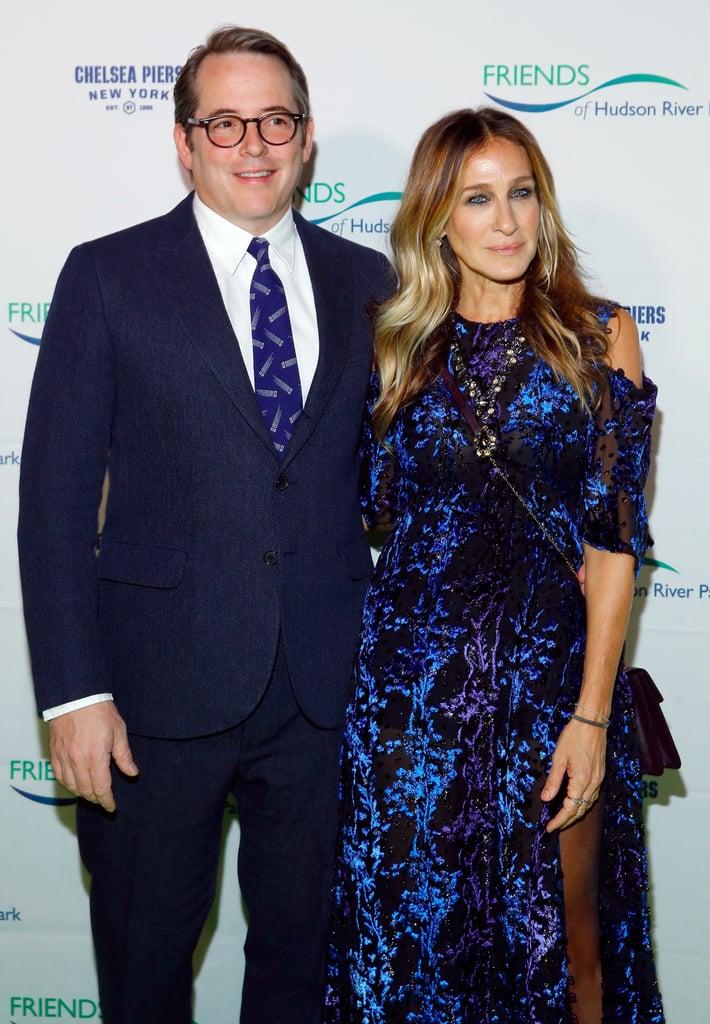 Sarah Jessica Parker and Matthew Broderick at Hudson Gala