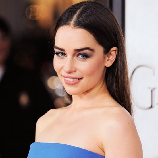 Emilia Clarke Game of Thrones Season 3 Premiere Makeup