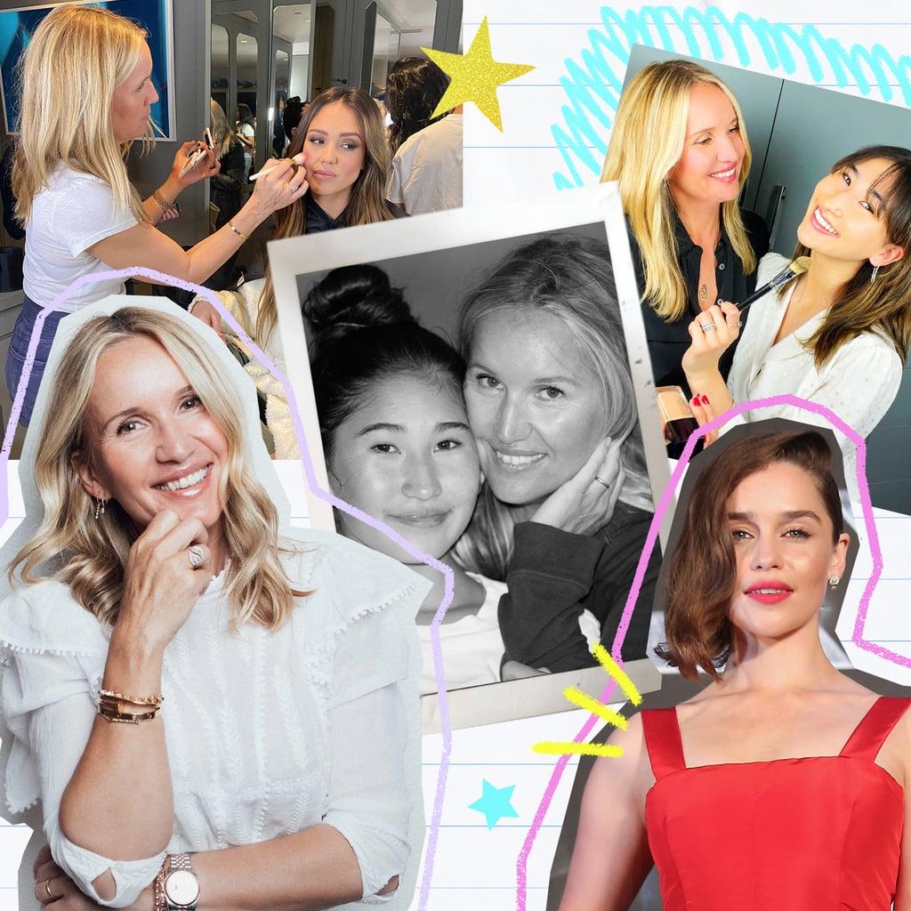 Celebrity Makeup Artist Monika Blunder's Career Moments