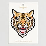 Tiger Embroidered Iron On Patch