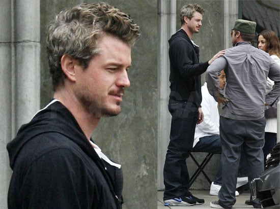 Eric Dane Eats Lunch at Joan's on Third in LA