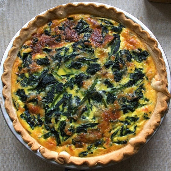 Veggie Cheese Quiche