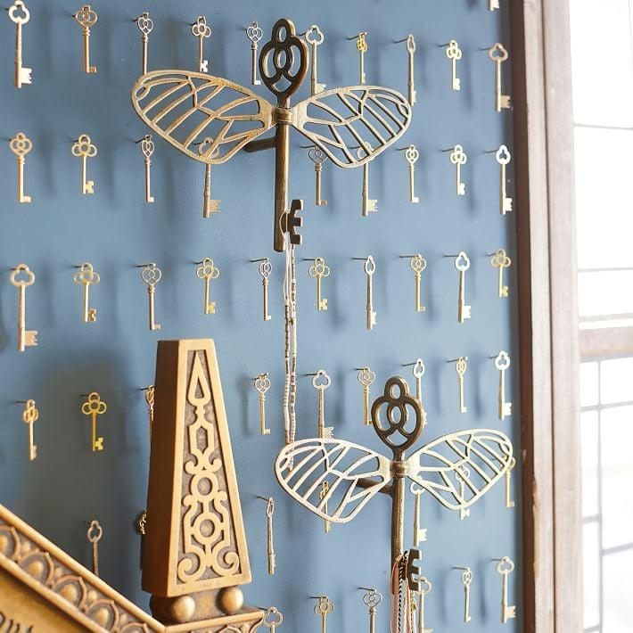 Flying Key Jewelry Hooks