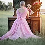 Husband Shaves Wife's Hair in Breast Cancer Photoshoot