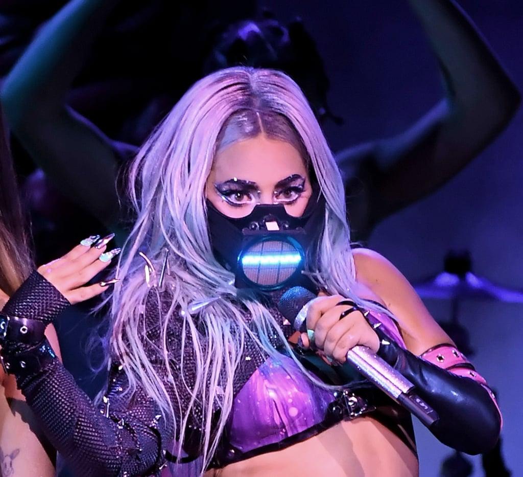 Lady Gaga's Hair Colour Inspiration at the 2020 MTV VMAs