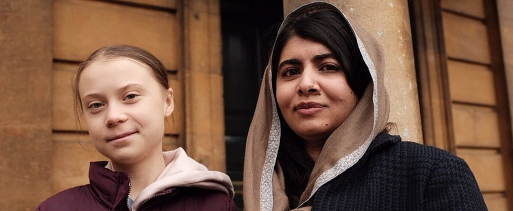 Greta Thunberg and Malala Yousafzai Meet For the First Time