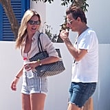 In August, Kate Moss and her husband, Jamie Hince, went sightseeing and shopping in Formentera.