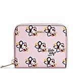Furla Kitty Toni Magnolia Zip Around Wallet