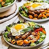Breakfast Salad With Everything-Bagel-Seasoning Dressing