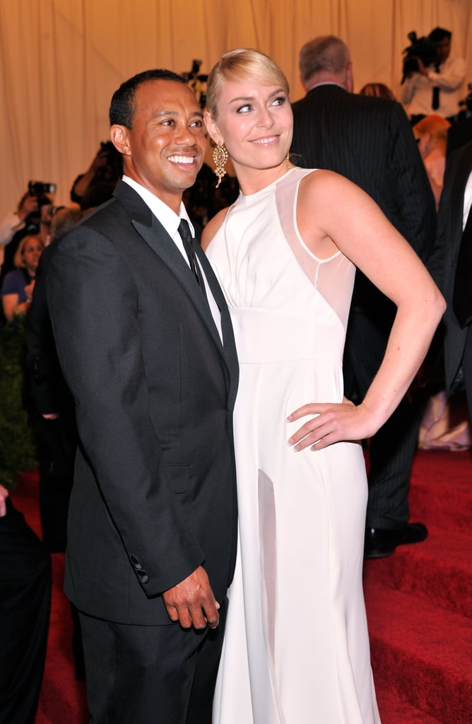 Tiger Woods and Lindsey Vonn made their red carpet debut as a couple.