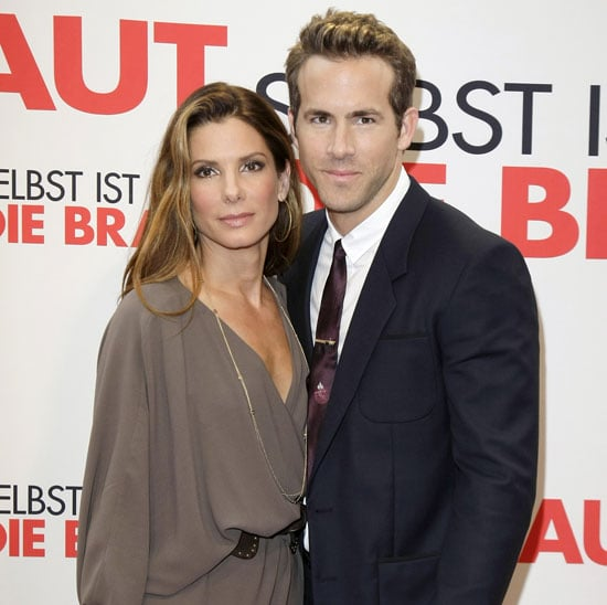 Slide Photo of Ryan Reynolds and Sandra Bullock at the Premiere of The Proposal in Germany