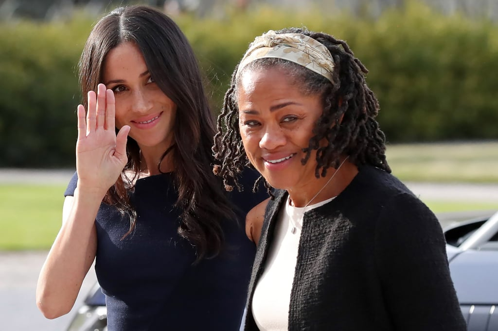 Meghan Markle and Doria Ragland Arriving at Cliveden House