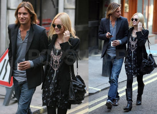Photos of Kate Bosworth and James Rousseau in London