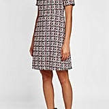 Sonia Rykiel Tweed Dress with Cotton and Silk