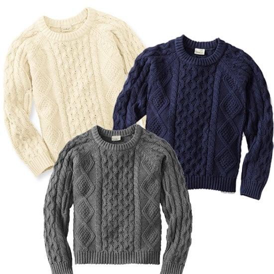 Shop L.L.Bean Fisherman Sweater