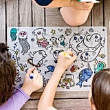 ZoLi Sea Fun Silicone Coloring Placemats