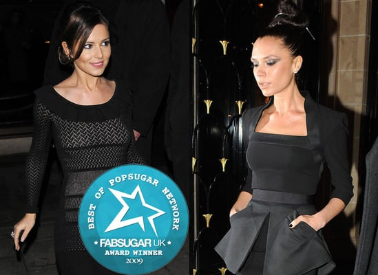 Most Stylish Brits of 2009 are Cheryl Cole and Victoria Beckham