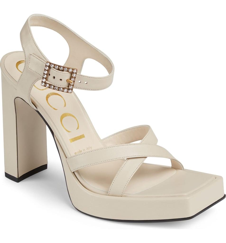 Gucci Costanze Platform Sandals