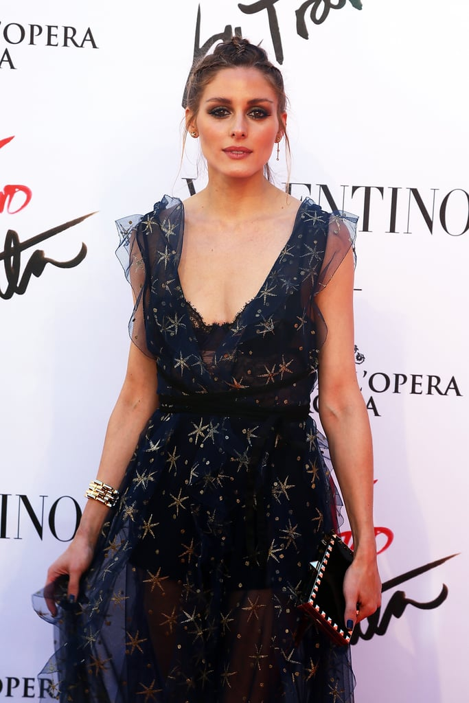 Olivia Palermo Valentino Dress in Rome 2016 May