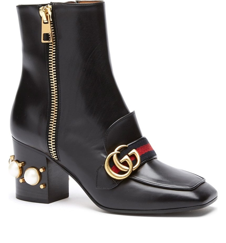 We're betting these covetable Gucci Peyton Booties ($1,590) could turn even her most bundled Winter looks into utterly chic outfits.