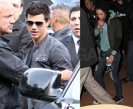 Pictures of Kristen Stewart and Taylor Lautner in Australia