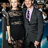 Brooklyn Decker and Taylor Kitsch on the Battleship Seoul red carpet.