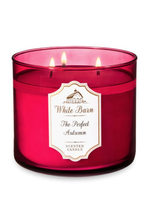 The Perfect Autumn Three-Wick Candle