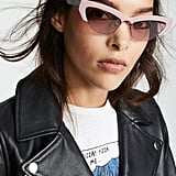 Miu Miu Logo Frames with Crystals