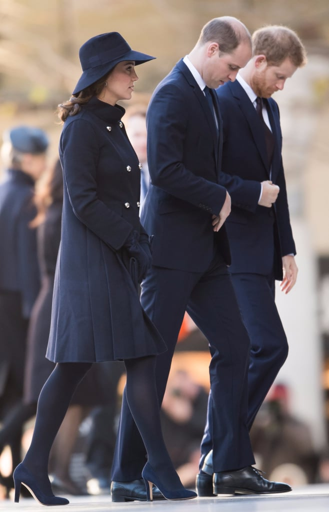 British Royals Grenfell Tower Memorial Service