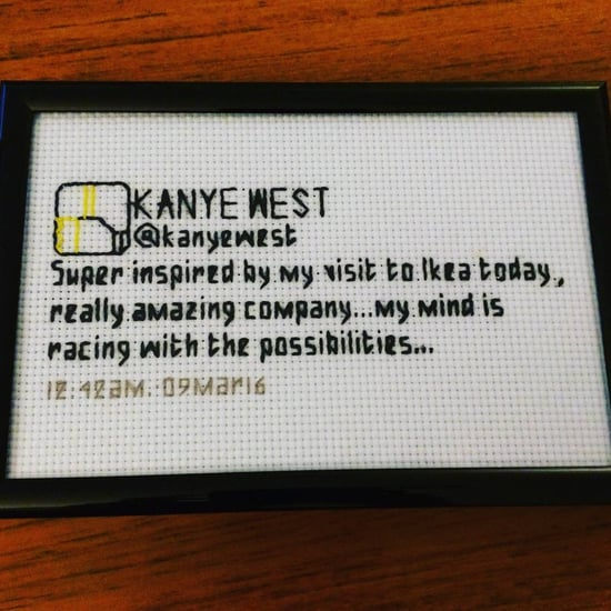 TweetxStitch Cross-Stitch Tweets