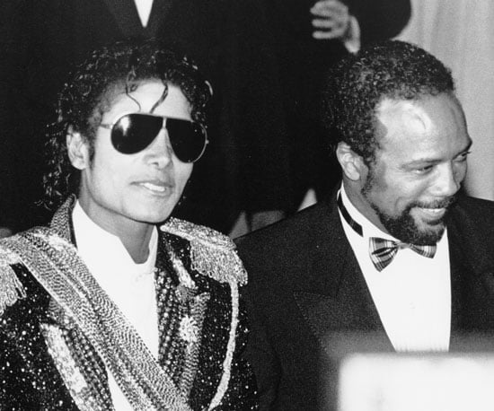 Michael Jackson and Quincy Jones stuck together in 1984.