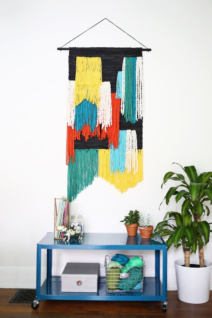 The fiery princess learned to appreciate tapestry-making in Brave, and she'd definitely hang one of her own in an apartment. Source: A Beautiful Mess