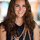 Kate Middleton wore traditional necklaces while in Tuvanipupu.