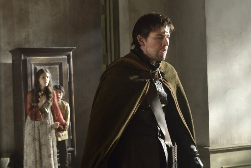Bash (Torrance Coombs) is equally horrified.