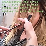 Hilary Duff's Bangs Transformation